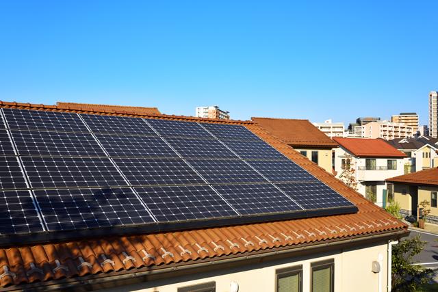 木造住宅での太陽光投資